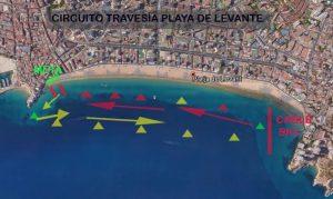 circuito travesia playa levante